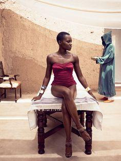 BLACK FASHION — dynamicafrica: Lupita Nyong'o lands her first...