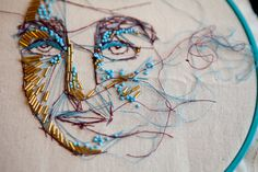 photo #embroided #face
