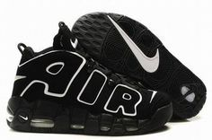 2011 Nike Air More Uptempo Black Men's #fashion