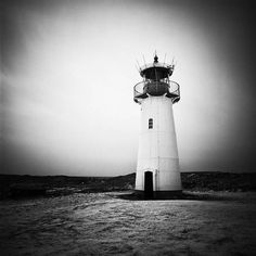 Sylt on the Behance Network #lighthouse #photo #white #black