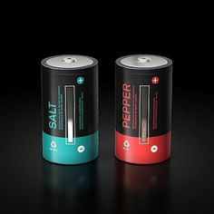 I'm not a battery » Design You Trust – Social design inspiration! #kitchenware #pepper #salt #battery