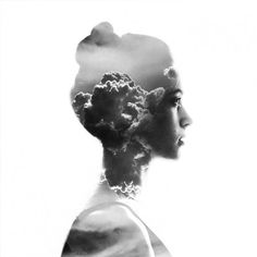 Stunning photo manipulations by Aneta Ivanova #double exposure #overlay #photography