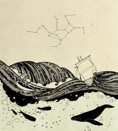 Birdie Houdini #conceptual #illustration #nature #birdie #houdini