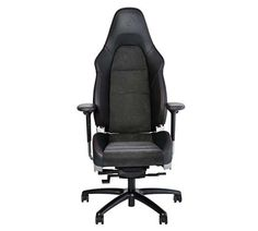 Porsche 911 GT3 seat is the coolest office chair #Porsche #Porsche911 #officechair #Alcantara