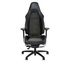 Porsche 911 GT3 seat is the coolest office chair   #Porsche #Porsche911 #officechair #Alcantara