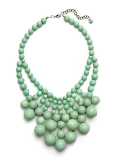 jade #jewellery #jewelry #mint #necklace