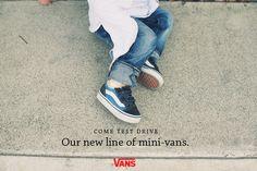 VANS AD #branding #advertising #simple #vans #kids #whyworkshop