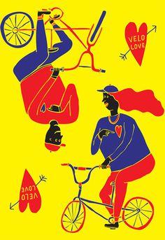 Feel The Wheel Love Art Print by Serafine Frey Easyart.com