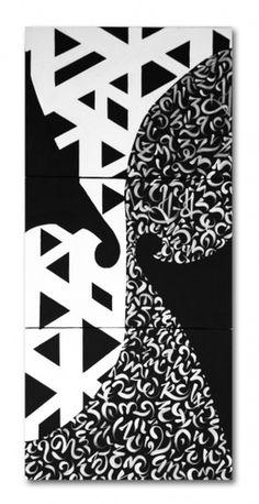 BLAQK #calligraphy #greg #lines #geometry #blaqk #papagrigoriou #simek