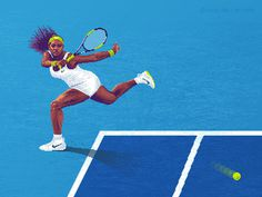 Pixel Serena Williams