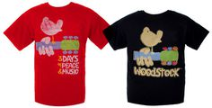 Woodstock Festival t-shirts