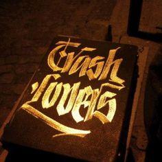 TrashLovers - I Guess I Was Probably Returning Videotapes #calligraphy #trashlovers #streetart #street
