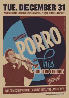 #poster #vintage #retro #lindyhop #swing #bigband #micheletenaglia