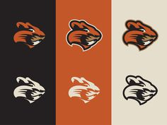 Proposed Oregon State University rebrand by Darrin Crescenzi #identity