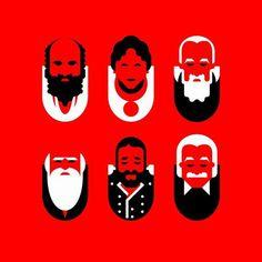 Coca-Cola Zero — Zerolistillos on Behance #character design #face #illustration