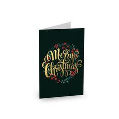 Gold Christmas #paperlust #christmas #holiday #christmascard #cards #card #holidaycard #photocard #photo #design #print #digitalprint #wedd