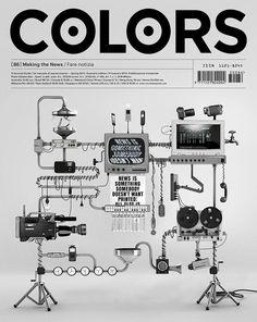 flpr #machine #robot #print #cover #colors #editorial #magazine