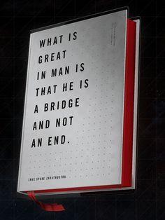 Thus Spake Zaratustra #nietzsche #design #graphic #book #cover
