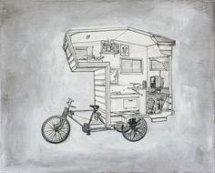 kevin_cyr #bikes #art