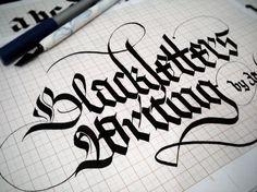 5873572424_d328f15261_b.jpg (1024×768) #blackletter #calligraphy #hand lettering