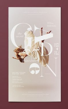 Secret Garden by Darbi Nicole #poster #typography