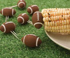 Football Corn Holders #tech #flow #gadget #gift #ideas #cool