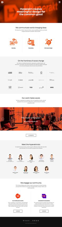 Hyperakt #minimalism #website #about #grid #minimal