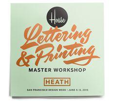 house, typography, retro
