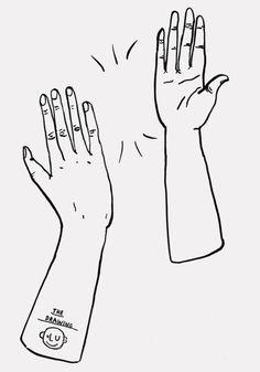 HORT #print #five #drawn #poster #hand #high