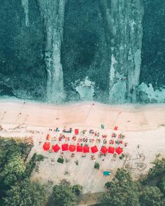 "Unsplash on Instagram: ""Beach Day⠀ ""While relaxing on the beach on the island of Gili T, I decided to throw the drone up and snap a pict"