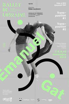 CCN Ballet de Lorraine - 2013 - 2014 season - Les Graphiquants