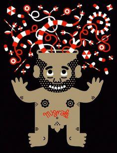 Migrate Ego - jan kallwejt archives #illustration