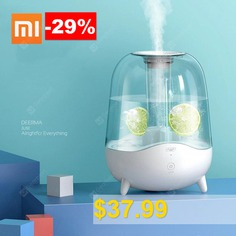 Xiaomi #Deerma #5L #Aroma #Diffuser #Ultrasonic #Air #Humidifier #Essential #Oil #Mist #Maker