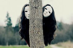 Photography by Michelle Ellis (4) #masks #forest #creepy #photography