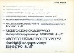 Daily Type Specimen | Beton is a family of geometric-ish slab serifs by... #type #specimen #typography
