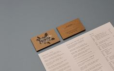 Crabapple Kitchen — Tom Clayton / Swear Words #business #branding #card #identity #stationery #foil #typography