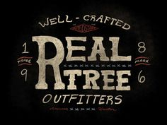 Wellcrafted #vintage #typography