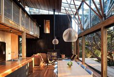 House, wood