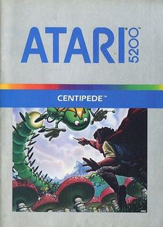 Atari - Centipede | Flickr - Photo Sharing! #games #video #illustration #manual #booklet