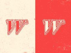 W #typography