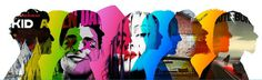 rdio ad #multiply #distort #artists #ad #music #overlay