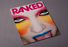 RANKED Magazine #branding #print #poster #art #music #layout #typography