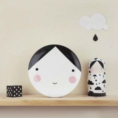 Ebony Plate for Kids from Sketch Inc. #interior #design #decor #deco #decoration