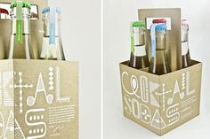 design work life » cataloging inspiration daily #labels #packaging #color #altamira #natural #sodas #cocktail #miriam #1