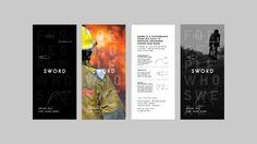 Sword Drink Mix #RackCards #Brochure #SpotUV