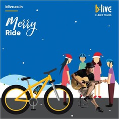 See an unseen side of Goan Christmas on smart and savvy Electric Bikes. From homemade desserts to Christmas Carols, our specially curated B:Live Merry Ride, has it all. To book B:Live Merry Rides, call or WhatsApp at