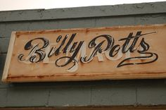 All sizes | Billy Potts Sign, Emporia | Flickr - Photo Sharing! #sign #worn