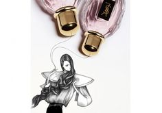 intro.jpg (JPEG Image, 850x595 pixels) #laura #illustration #ysl #laine