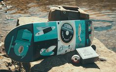 When Skateboarding, Fishing and Badges Collide!   Allan Peters' Blog #skateboard #fishing