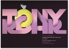 Sexy, Bold And Experimental Typography | Smashing Magazine #purple #typography